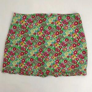 Lilly Pulitzer Resort Floral Callie Mini Skirt 00